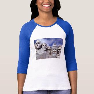 Mount Rushmore Sock Monkey T Shirts