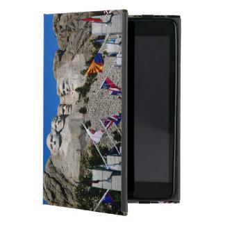 Mount Rushmore South Dakota Flag Souvenir Covers For iPad Mini