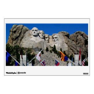Mount Rushmore South Dakota Flag Souvenir Wall Decal