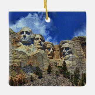 Mount Rushmore South Dakota Ornament