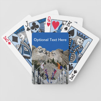 Mount Rushmore South Dakota Souvenir Bicycle Playing Cards