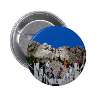 Mount Rushmore South Dakota Souvenir Button