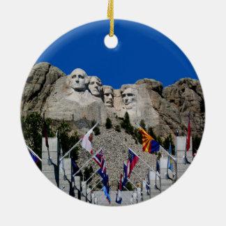 Mount Rushmore South Dakota Souvenir Ceramic Ornament