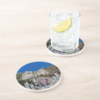 Mount Rushmore South Dakota Souvenir Drink Coaster