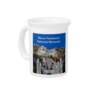 Mount Rushmore South Dakota Souvenir Drink Pitchers