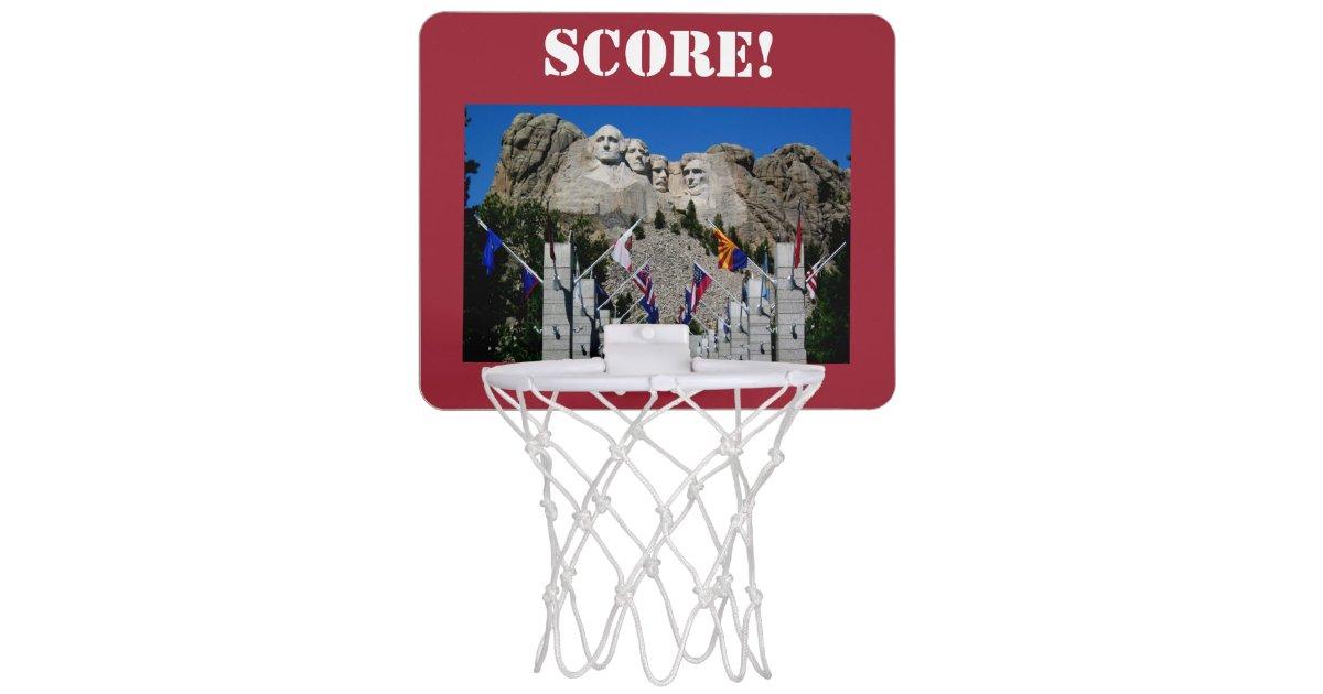Mount Rushmore South Dakota Souvenir Mini Basketball Backboard ... 85c5318bea