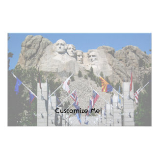 Mount Rushmore South Dakota Souvenir Stationery