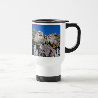 Mount Rushmore South Dakota Souvenir Travel Mug