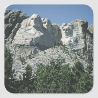 Mount Rushmore , South Dakota Square Sticker