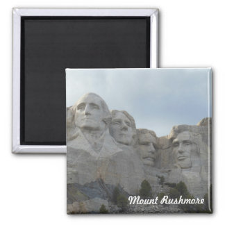 Mount Rushmore Square Magnet