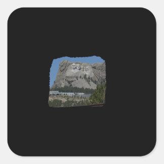 Mount Rushmore Square Sticker