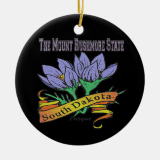 Mount Rushmore State Flower Ornament