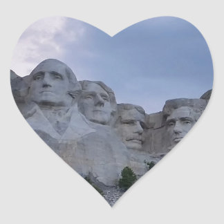 Mount Rushmore Stickers