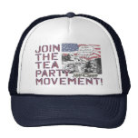 Mount Rushmore Tea Party Gear Mesh Hat
