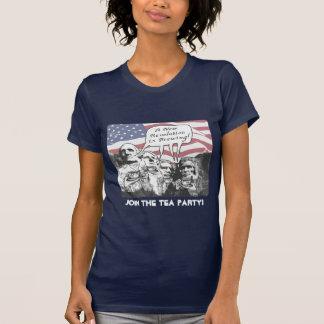 Mount Rushmore Tea Party Gear T-Shirt