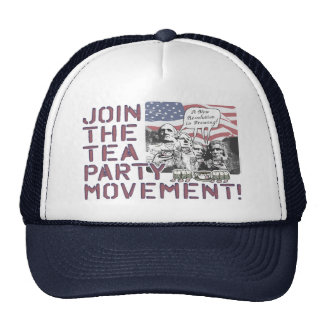 Mount Rushmore Tea Party Gear Trucker Hat