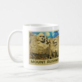 Mount Rushmore Vintage Mug