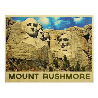 Mount Rushmore Vintage Postcard