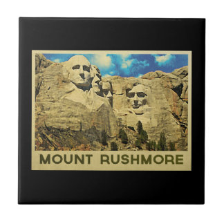 Mount Rushmore Vintage Tile