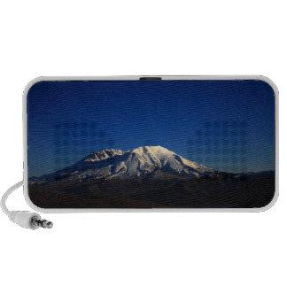 Mount Saint Helens at Dusk Doodle Travel Speaker