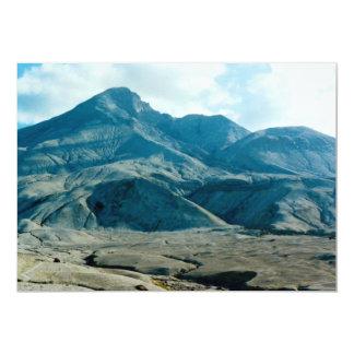 "Mount Saint Helens Crater, Washington, USA 5"" X 7"" Invitation Card"