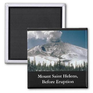 Mount Saint Helens - Pre-Eruption Fridge Magnets