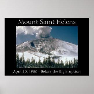Mount Saint Helens - Pre-Eruption Print