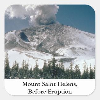 Mount Saint Helens - Pre-Eruption Sticker