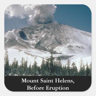 Mount Saint Helens - Pre-Eruption Stickers