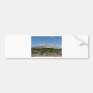 Mount Saint Helens wide angle early summer Bumper Sticker