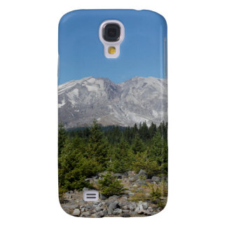 Mount Saint Helens wide angle early summer Samsung Galaxy S4 Cases