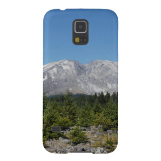 Mount Saint Helens wide angle early summer Galaxy S5 Case