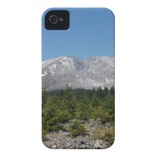 Mount Saint Helens wide angle early summer iPhone 4 Case-Mate Cases