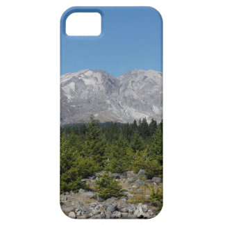 Mount Saint Helens wide angle early summer iPhone 5 Covers
