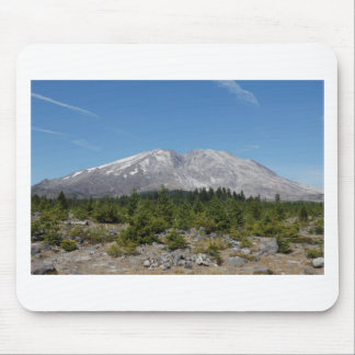 Mount Saint Helens wide angle early summer Mouse Pad