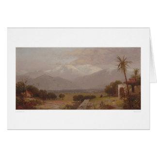 Mount San Bernardino from the Mission Ruins (1232) Card