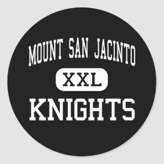 Mount San Jacinto - Knights - Cathedral City Classic Round Sticker