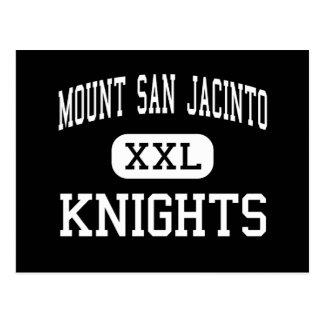 Mount San Jacinto - Knights - Cathedral City Postcard
