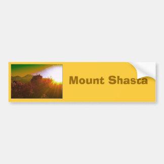 Mount Shasta Bumper Sticker