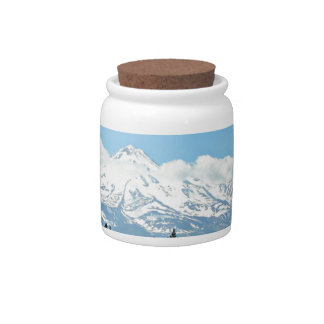 Mount Shasta California Mountain Landscape Nature Candy Dishes