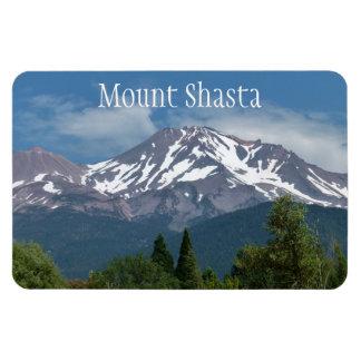 Mount Shasta California Rectangle Magnet