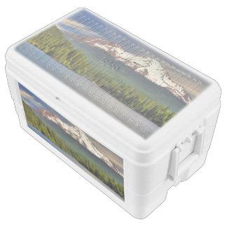 MOUNT SHASTA FROM LAKE SISKIYOU COOLER