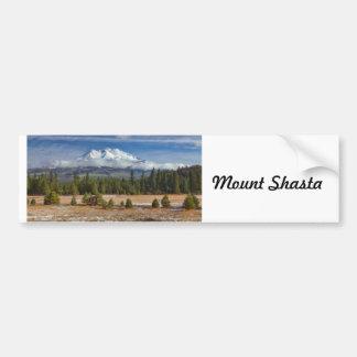 MOUNT SHASTA IN SNOW BUMPER STICKER