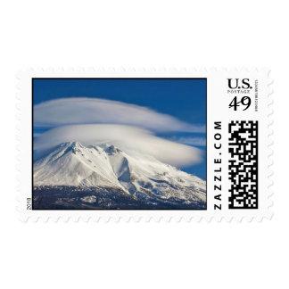~ Mount Shasta Lenticulars ~ Postage