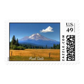 MOUNT SHASTA NEAR McCLOUD Postage Stamp