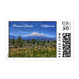 Mount Shasta Postage