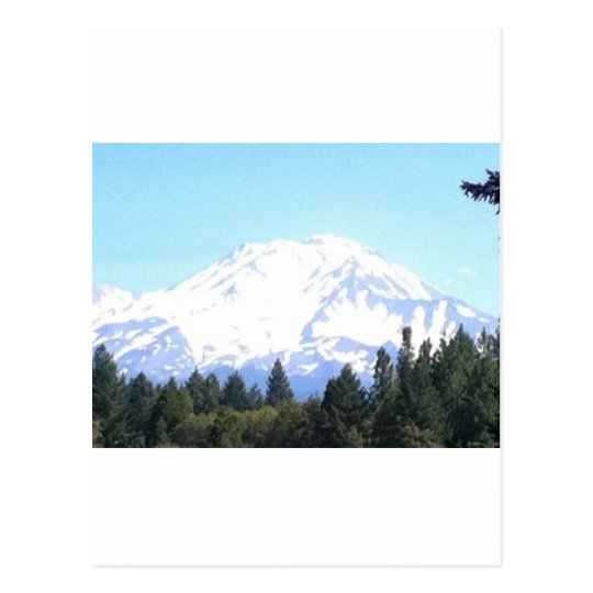 Mount Shasta Postcard