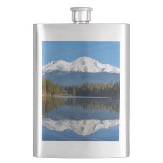 MOUNT SHASTA REFLECTED FLASK