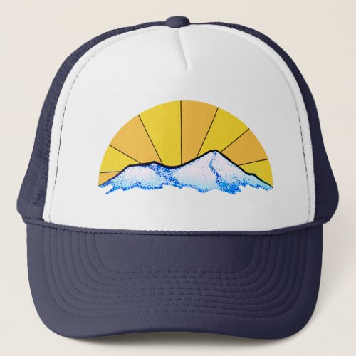 Mount Shasta Trucker Hat