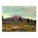 Mount Shasta Vintage Postcard